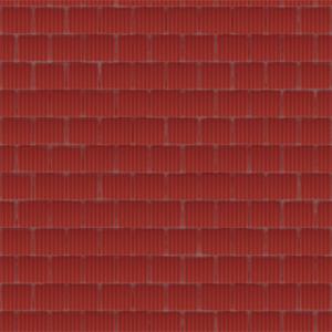 8K屋顶瓦红色陶瓷瓦贴图-020203W84