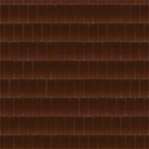 8K屋顶瓦棕色陶瓷瓦贴图-020203W85