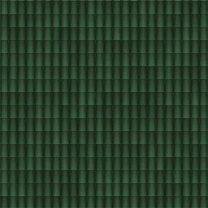 8K屋顶瓦绿色陶瓷瓦贴图-020203W87