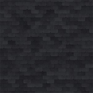 8K屋顶瓦黑色金属瓦贴图-020203W90