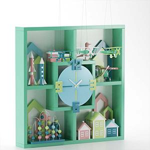 玩具组合3D模型-0301W3