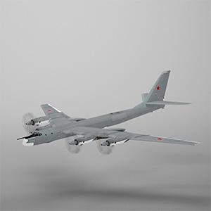 图-95轰炸机3D模型-1103F18