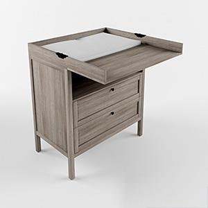 宜家抽屉柜3D模型-1402C1