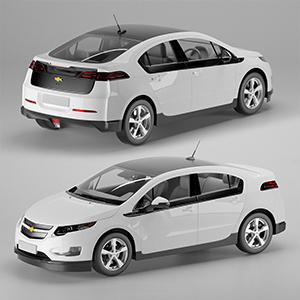 雪弗兰Volt电动汽车3D模型-070301C3