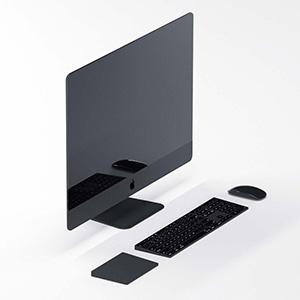苹果电脑3D模型-1901D4