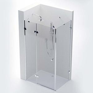 玻璃淋浴间3D模型-0512L3
