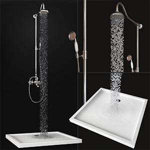 淋浴花洒3D模型-0509S1