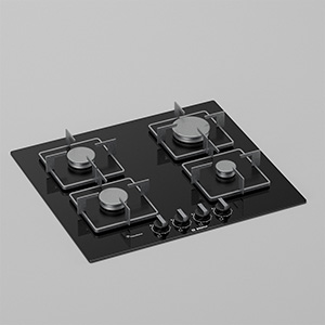 燃气灶3D模型-0413C2