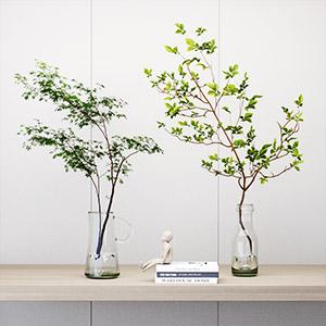 花瓶盆栽3D模型-1008F23