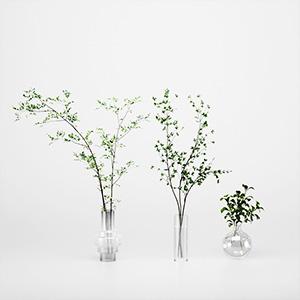 花瓶盆栽3D模型-1008F25