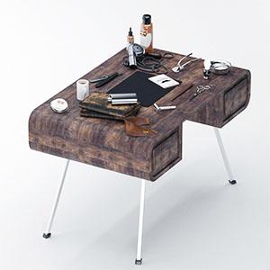 桌子3D模型-0106Z19