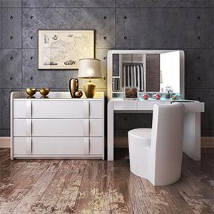 梳妆台柜子3D模型-0107ZY18