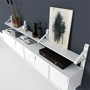 电视柜3D模型-0112D5