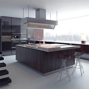厨房组合3D模型-0412C7