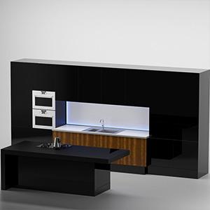 厨房组合3D模型-0412C8