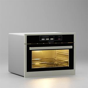 烤箱3D模型-0414S1