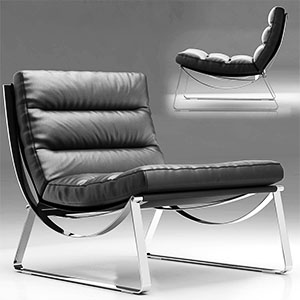 躺椅3D模型-010404Y11