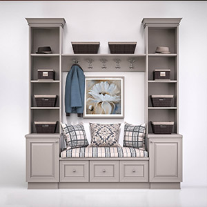 玄关柜3D模型-0110G4