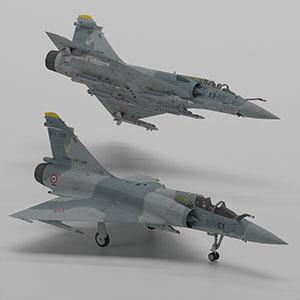 幻影2000战斗机3D模型-1103F19