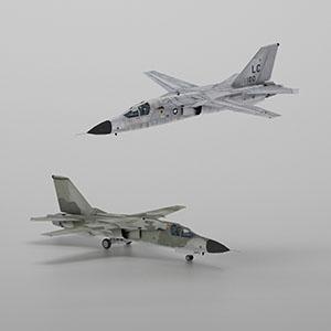 F-111 土豚战斗轰炸机3D模型-1103F20