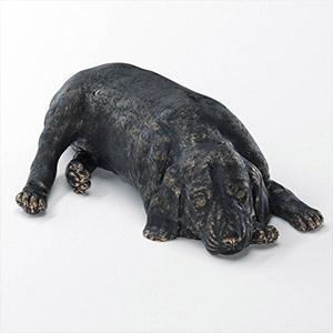 金属摆件狗狗3D模型-0303B71