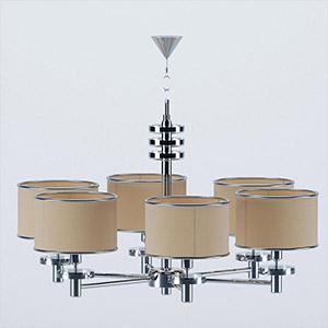 吊灯3D模型-0202D37