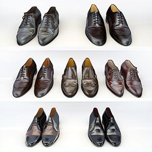 皮鞋3D模型-0309Y6