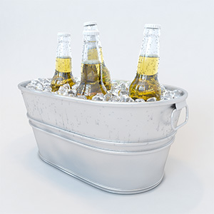冰块啤酒3D模型-0409B2