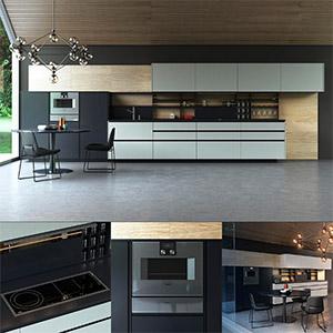 厨房组合3D模型-0412C12