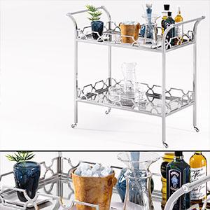 厨房厨具架3D模型-0415C1