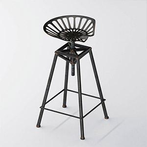 金属吧椅吧凳3D模型-010402D6