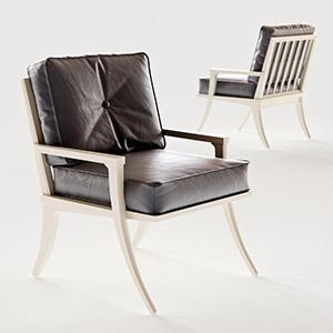 单椅休闲皮椅3D模型-010403Y56