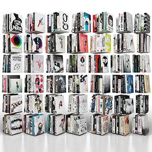 书籍3D模型-0315S6