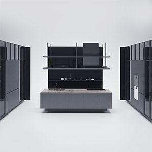 厨房组合3D模型-0412C13