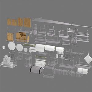 厨房摆件3D模型-0415C2