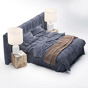 床3D模型-0101C46