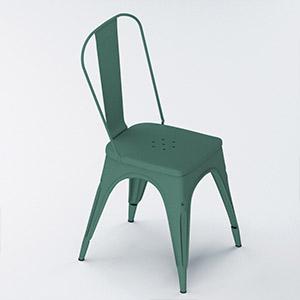 工业LOFT休闲椅3D模型-010408XY5