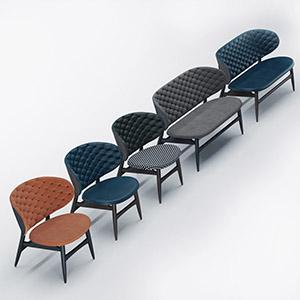 经典简约休闲椅3D模型-010408XY4