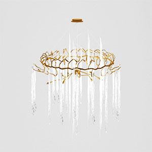 水晶吊灯3D模型-0202D42