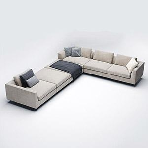 沙发组合3D模型-010205S30