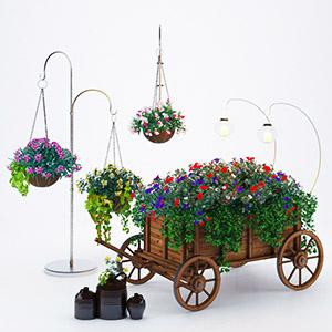 户外植物3D模型-1010H1