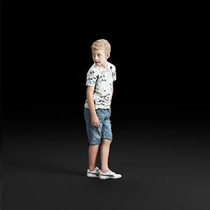 儿童3D模型-0803T4