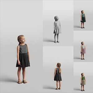 儿童3D模型-0803T5