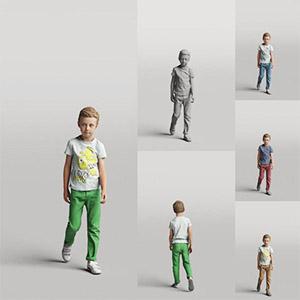 儿童3D模型-0803T7