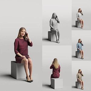 女人3D模型-0802N19