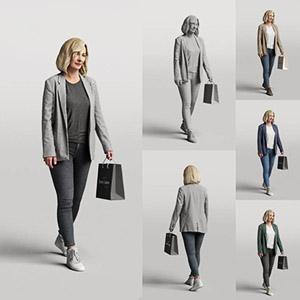 女人3D模型-0802N17