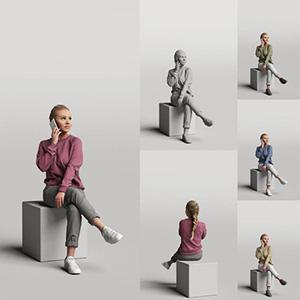 女人3D模型-0802N16