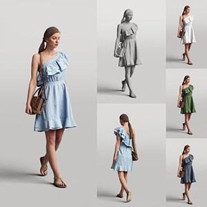 女人3D模型-0802N15