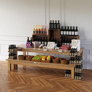 酒水商品3D模型-1305S16