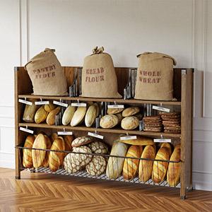 面包商品3D模型-1305S13